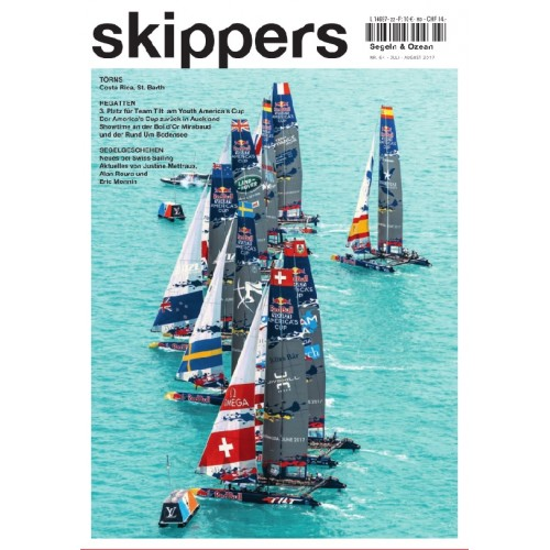 Skippers Magazine - July 2017 - german