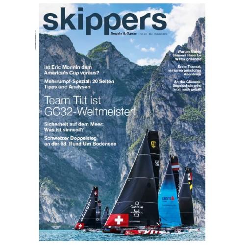 Skippers Magazine - digital version - April 2018- German