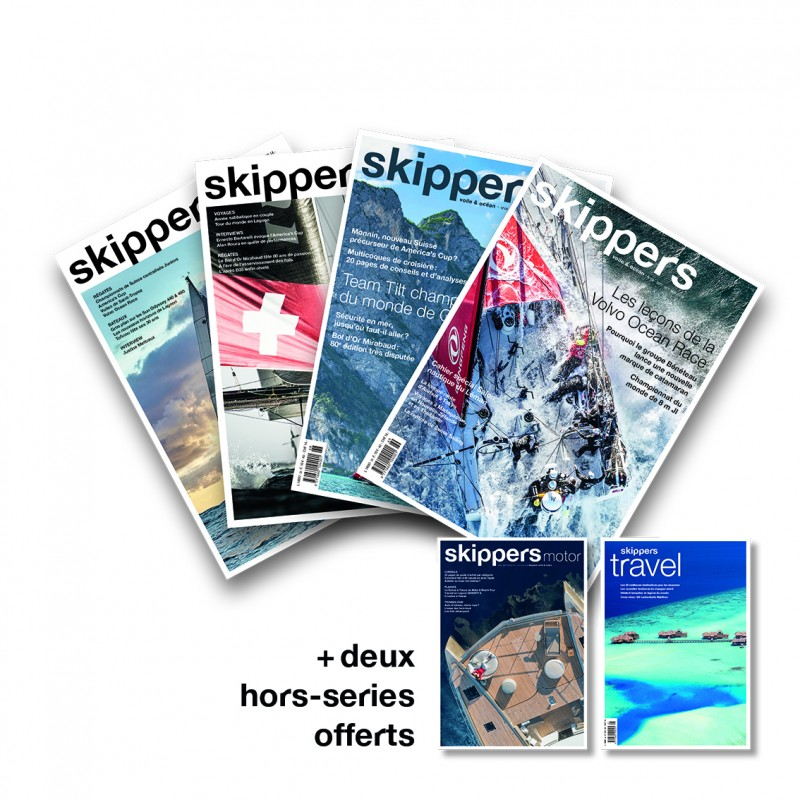 Skippers subscription 1 year - French
