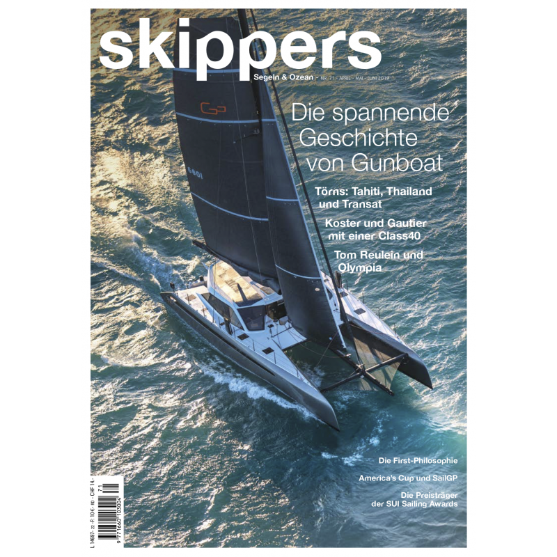 Skippers Magazine - version digitale - Avril 2019 - Allemand