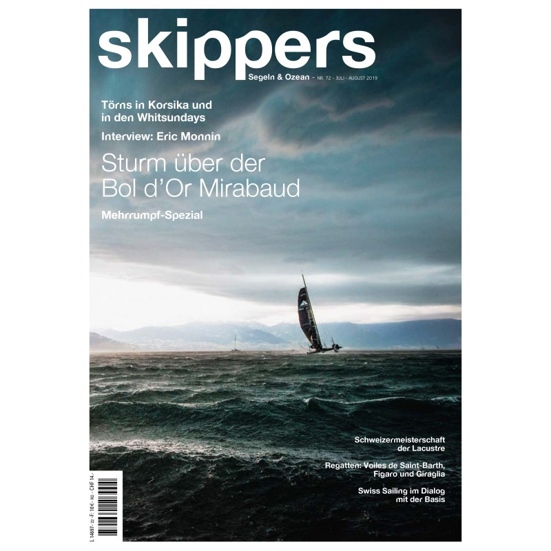 Skippers Magazine - digital version - July 2019- German