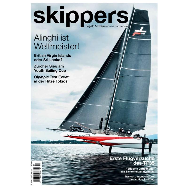Skippers Magazine - digital version -September 2019- German