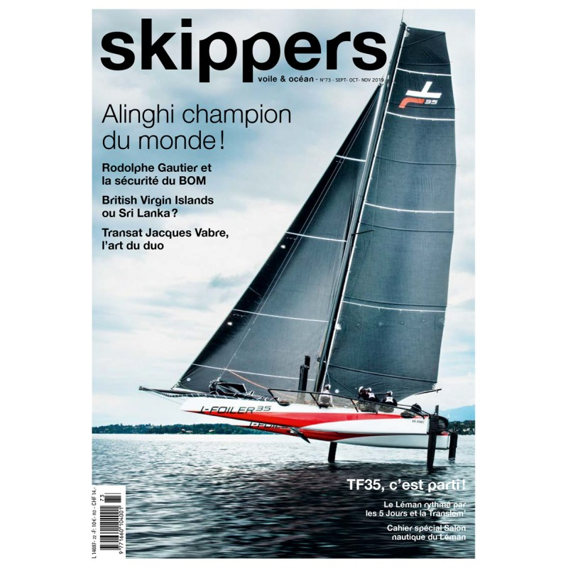 Skippers Magazine - digital version - September 2019 - French