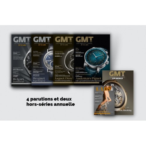 Abonnement GMT Great Magazine of Timepieces